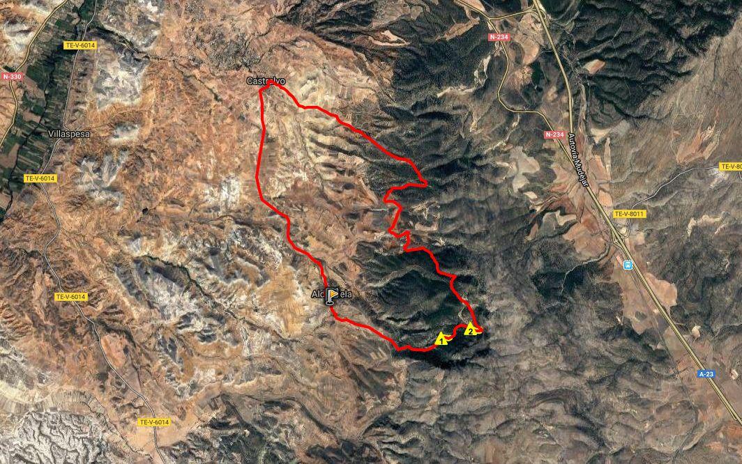 Ruta BTT: Aldehuela – Hortaleza – Castralvo – Aldehuela