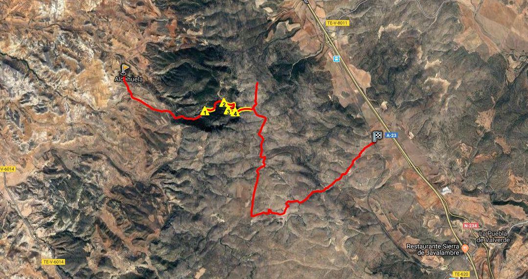 Ruta BTT: Aldehuela – Vía Verde por Coronillas