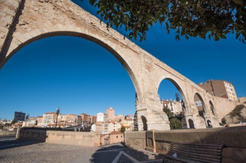 Acueducto de Los Arcos en Teruel