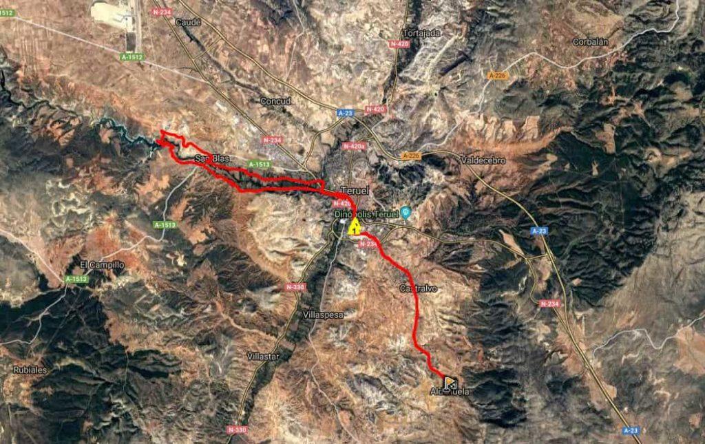 Ruta Btt Aldehuela a Pantano del Arquillo