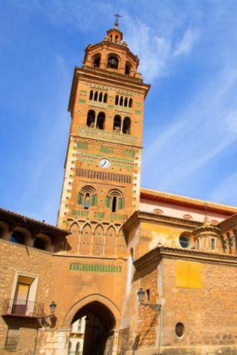Aragon Teruel Mudejar Cathedral Santa María Mediavilla UNESCO heritage in Spain