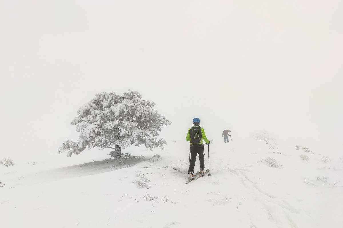 esqui de montaña teruel